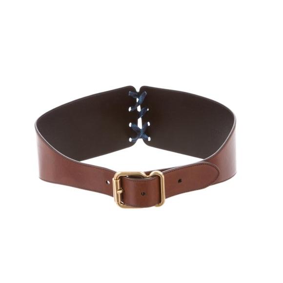 57af3bb9c239 New Prada Women Leather Lace Belt. M 5b2343f6bb76159afcdfa005. Other  Accessories ...